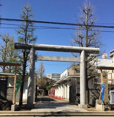 東京都深川神明宮の写真