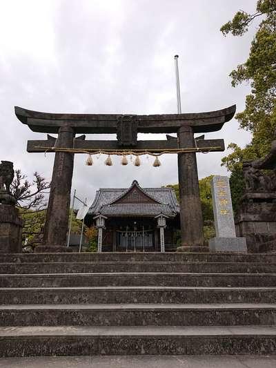 三笠神社の鳥居