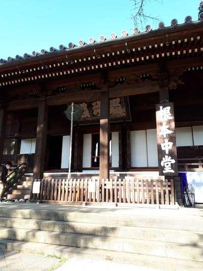 東京都寛永寺の本殿