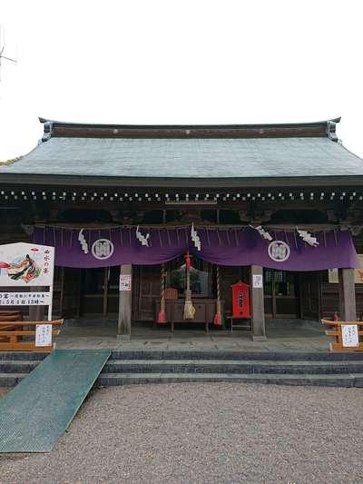 熊本県代継宮の本殿