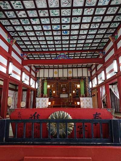 鹿児島県鹿児島神宮の本殿
