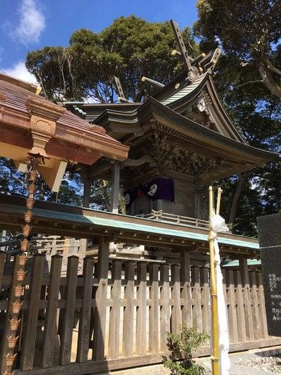 茨城県佐波波地祇神社の本殿