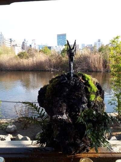 上野大仏の近くの神社お寺|寛永寺不忍池弁天堂