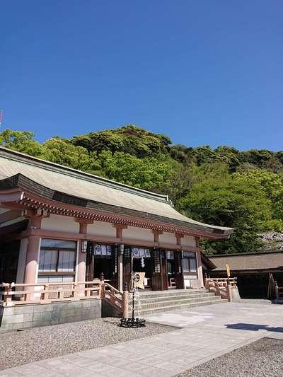 鹿児島県照國神社の本殿