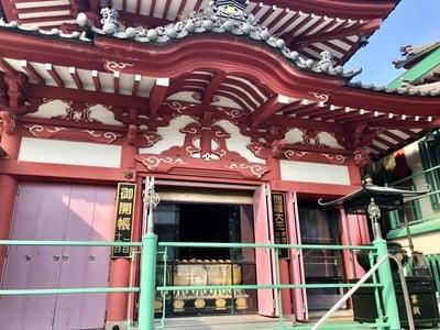 東京都法乗院(深川閻魔堂)の本殿