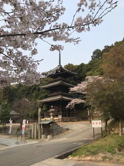 岡山県熊野神社の塔
