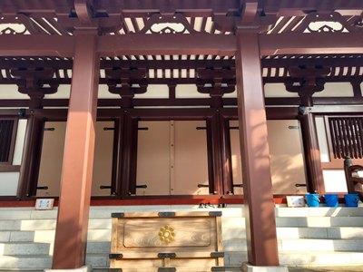東京都心行寺の本殿