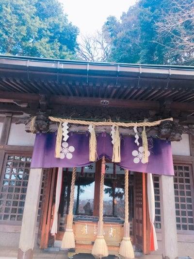 神奈川県永谷天満宮の本殿