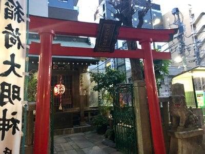東京都三光稲荷神社の本殿