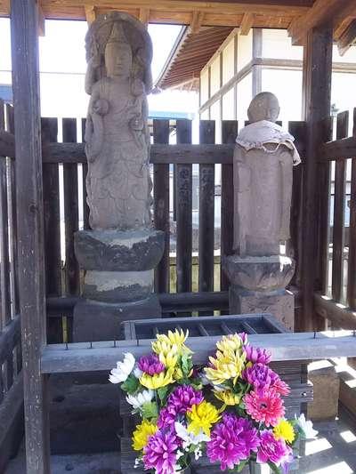 浄法庵(廃寺)の仏像