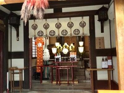 東京都笠間稲荷神社の本殿