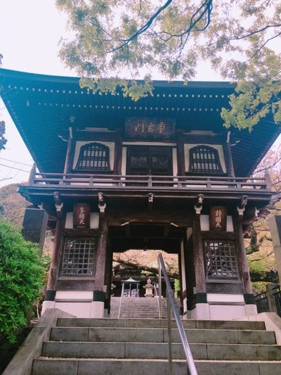 神奈川県常照寺の山門