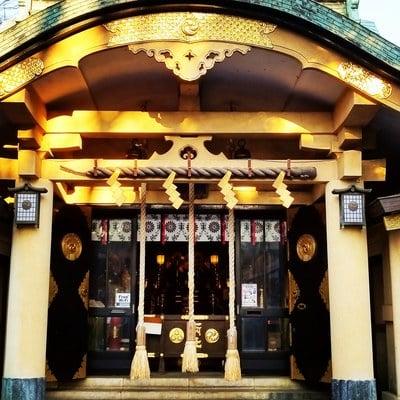 東京都須賀神社の本殿