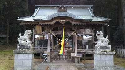 大中神社の本殿