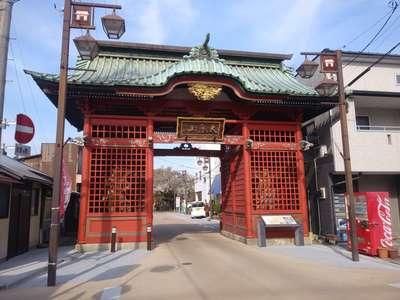 二十三夜尊桂岸寺の山門