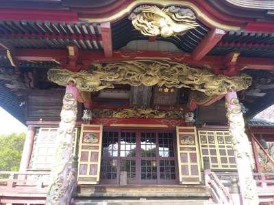 茨城県二十三夜尊桂岸寺の本殿