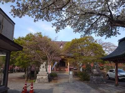 二十三夜尊桂岸寺の本殿