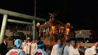 加茂神社のお祭り