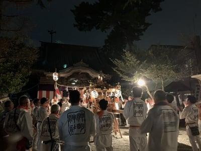神奈川県神明神社の写真