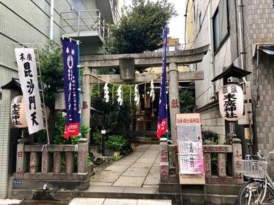 東京都末廣神社の本殿