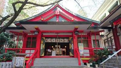 東京都春日神社の本殿
