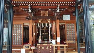 東京都元神明宮の本殿