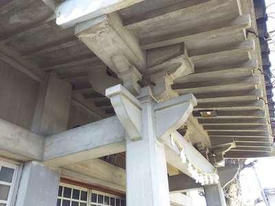 埼玉県東越谷香取神社の本殿