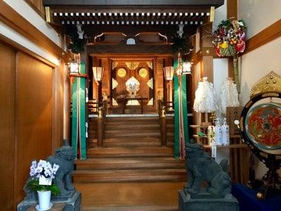 松島神社(東京都水天宮前駅) - 狛犬の写真