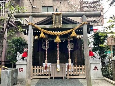 東京都茶の木神社の本殿
