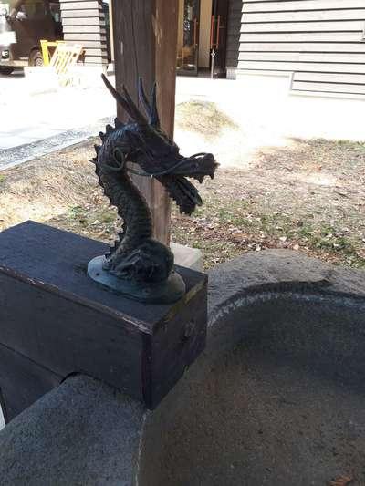 長沼神社(北海道由仁駅) - 手水舎の写真