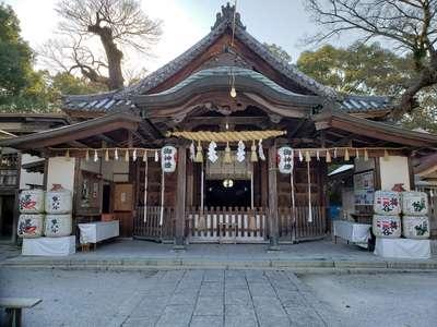 福岡県嚢祖八幡宮の本殿