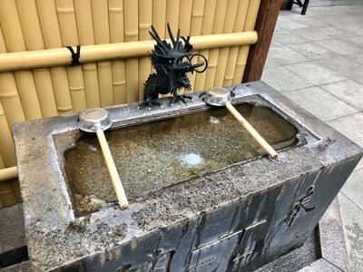大観音寺の手水