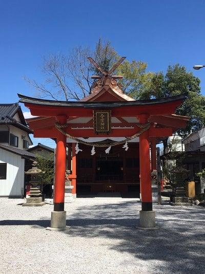 埼玉県秩父今宮神社の鳥居