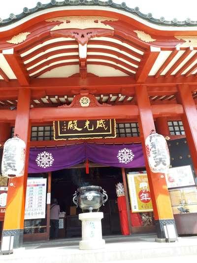 徳大寺(摩利支天)(東京都御徒町駅) - 本殿・本堂の写真