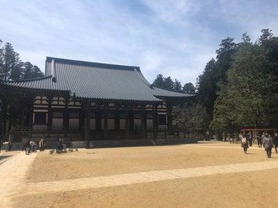 和歌山県壇上伽藍の本殿