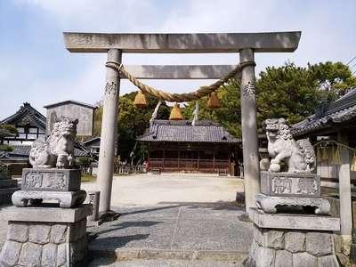 愛知県八幡社(大谷八幡社)の鳥居