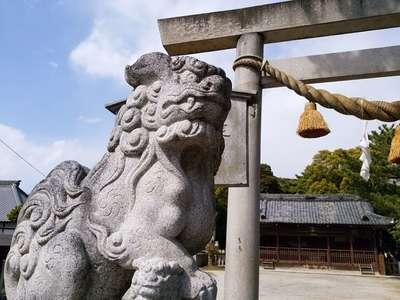 八幡社(大谷八幡社)の狛犬