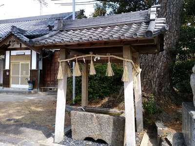 八幡社(大谷八幡社)の手水