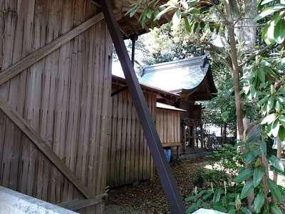 愛知県八幡社(大谷八幡社)の本殿