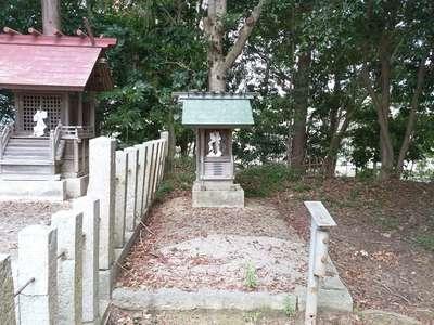 神明社(古場神明社)の末社