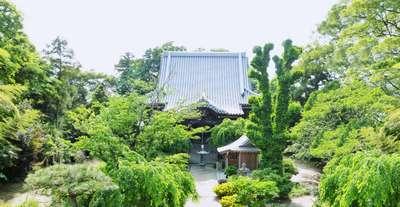 埼玉県観音院の本殿