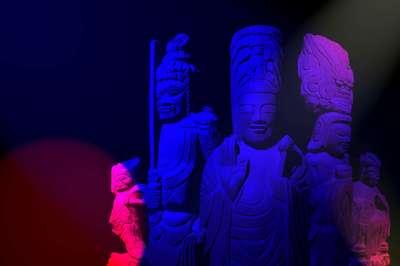埼玉県観音院の仏像