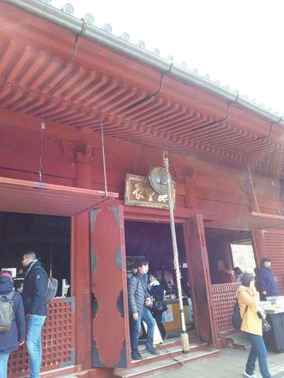 東京都清水観音堂の山門