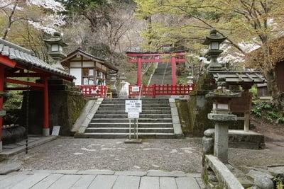 奈良県談山神社の鳥居