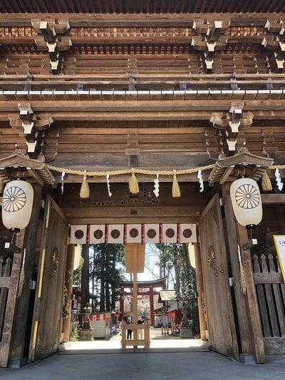 伊佐須美神社の山門