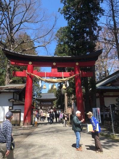伊佐須美神社の鳥居