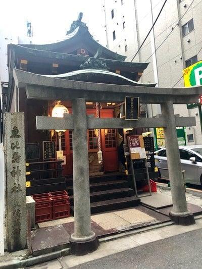 東京都寳田恵比須神社の本殿
