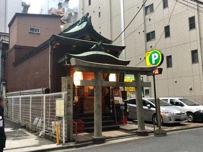 東京都寳田恵比須神社の写真