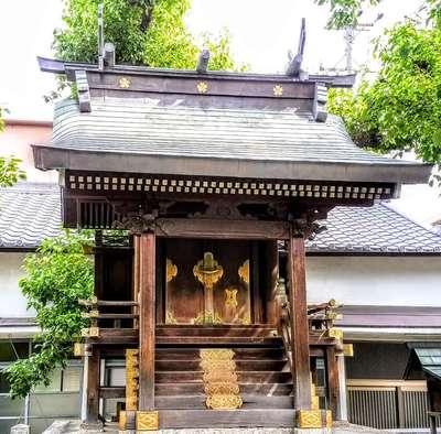愛知県櫻田神社の本殿