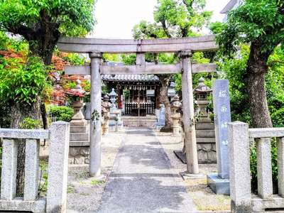 愛知県櫻田神社の鳥居
